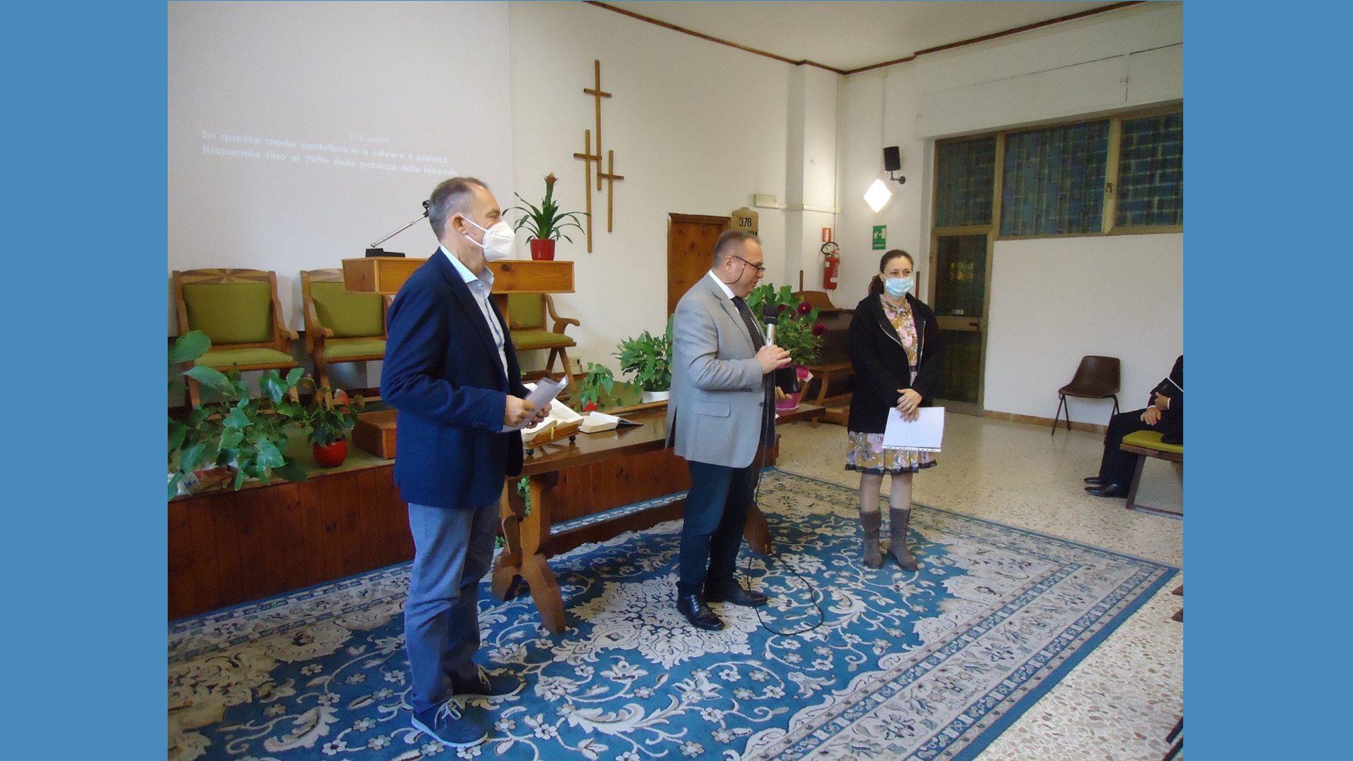 Roma Ostia – Consacrazione diacono e diaconessa 2021