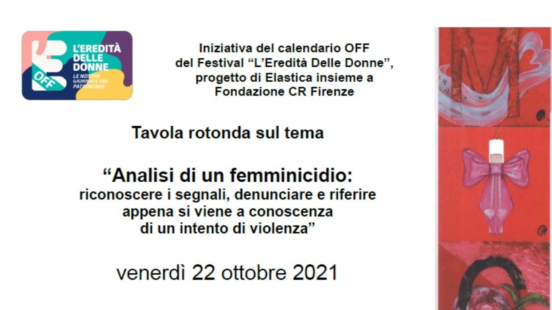 Firenze. Analisi di un femminicidio