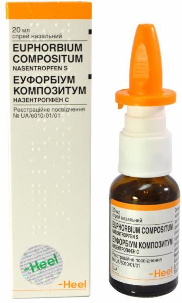 Эуфорбиум Композитум 20 мл спрей