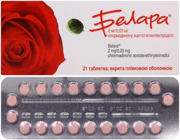 Белара №21 таблетки