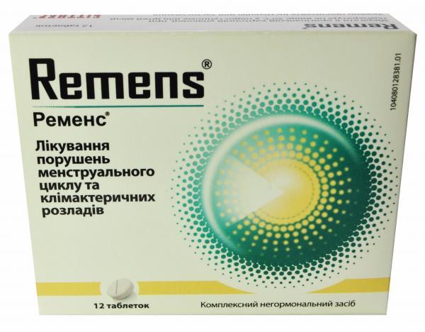 Ременс №12 таблетки