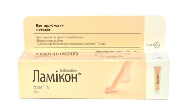 Ламикон 15 г крем
