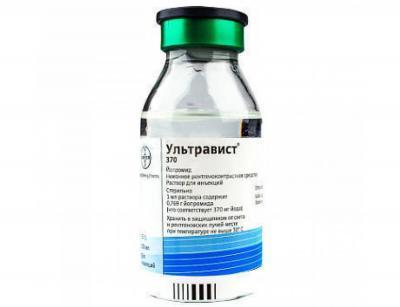 Ультравист-37 370мг/мл 500 мл N8 раствор для инфузий