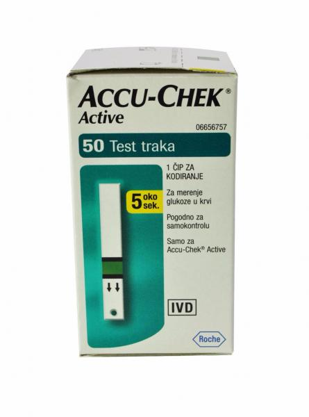 Акку-Чек Актив N50 Accu-Chek Active тест-полоски