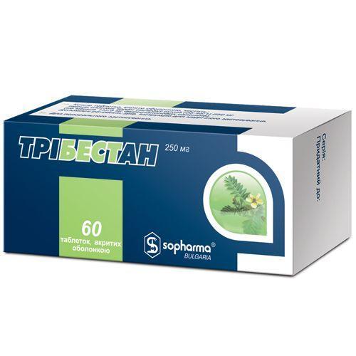 Трибестан 250 мг N60 таблетки