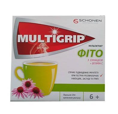Мультигрипп фито эхинацея+витамин С №10 саше