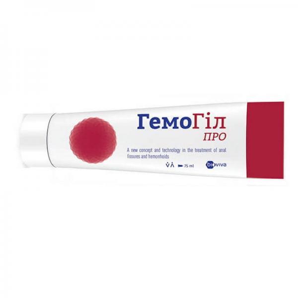 ГемоГил Про 75 мл, мазь для лечения геморроя и анальных трещин