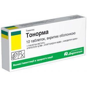 Тонорма №10 таблетки