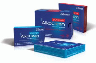 Глутаргин алкоклин 1 г №1х2 таблетки