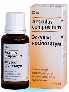 Эскулюс Композитум 30 мл капли