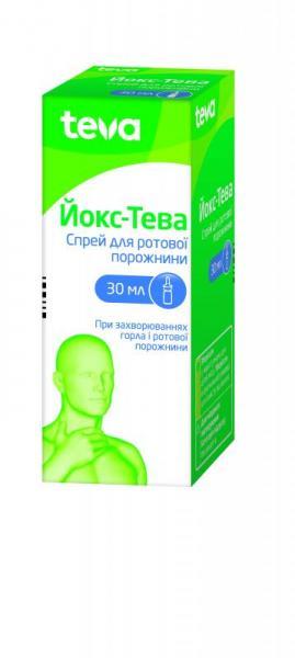 Йокс-Тева 30 мл спрей