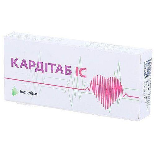 Кардитаб IC N10 таблетки