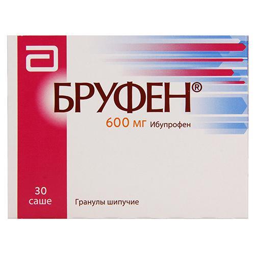 Бруфен 600 мг N30 гранулы