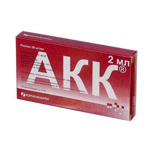 АКК 50 мг/мл 2 мл №10 раствор