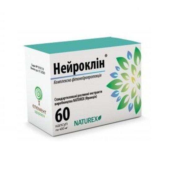 Нейроклин 400 мг N60 капсулы