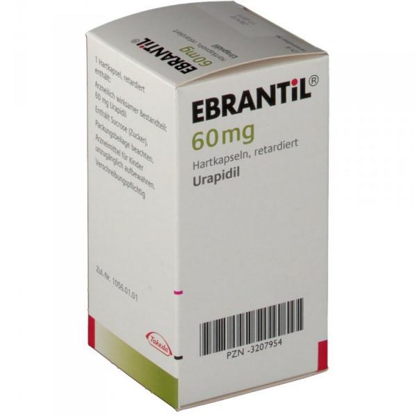 Эбрантил  60 мг N50 капсулы