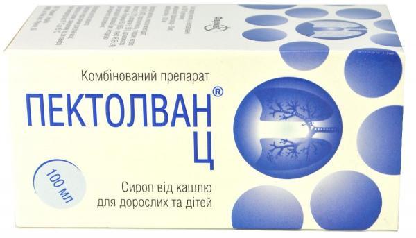 Пектолван Ц 100 мл сироп