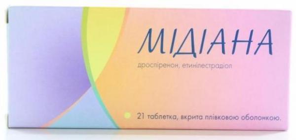 Мидиана №21 таблетки