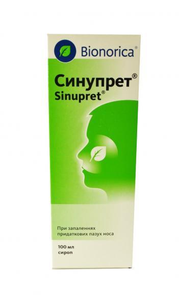 Синупрет 100 мл сироп