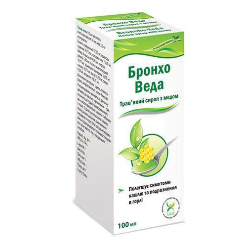 Бронхо Веда с медом 100 мл сироп