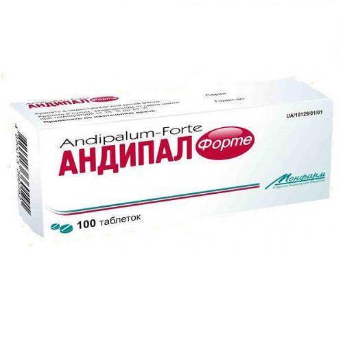 Андипал форте №100 таблетки