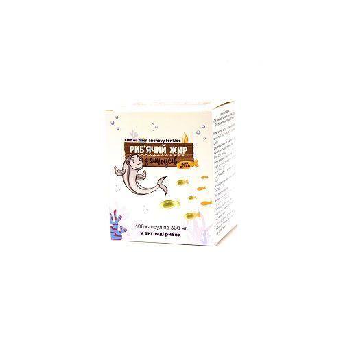 Рыбий жир из анчоуса 300 мг №100 капсулы