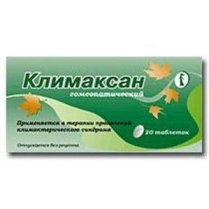 Таблетки Климаксан №20