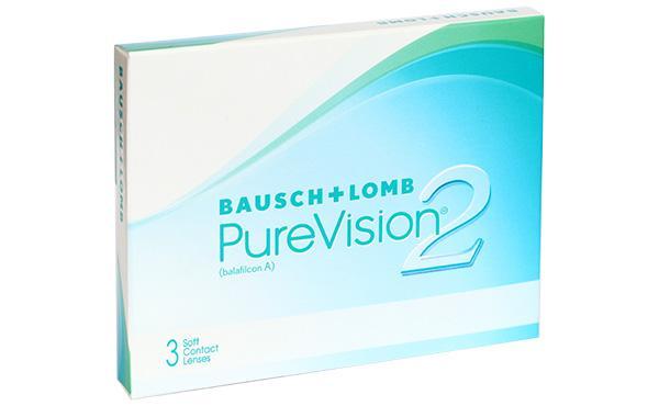 Контактные линзы PureVision 2 6 шт. 8.6 -06.00