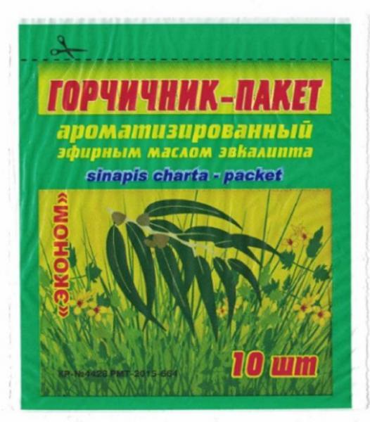 Горчичник-пакет N10 ароматизированный