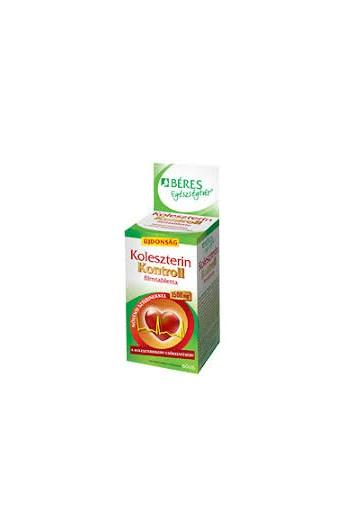 Береш Холестерин Контроль N60 таблетки