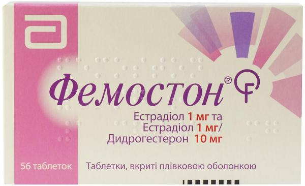 Фемостон 1 мг/10 мг №56 таблетки