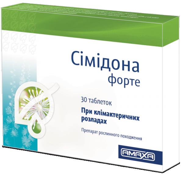 Симидона форте 13 мг №30 таблетки