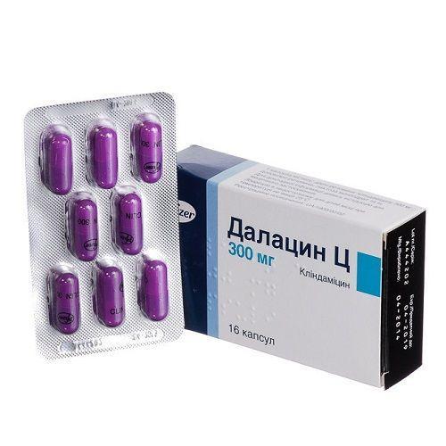 Далацин Ц 300 мг N16 капсулы