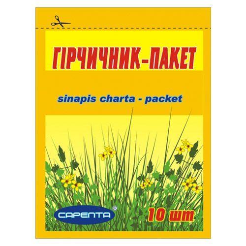 Горчичник-пакет Эконом №10