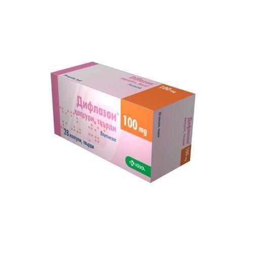 Дифлазон 100 мг №28 капсулы