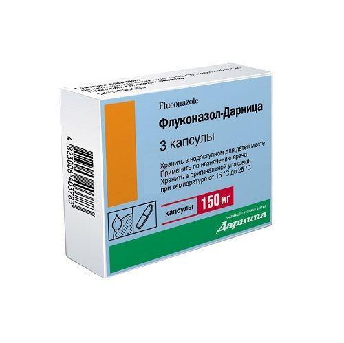 Флуконазол-Дарница 150 мг №3 капсулы