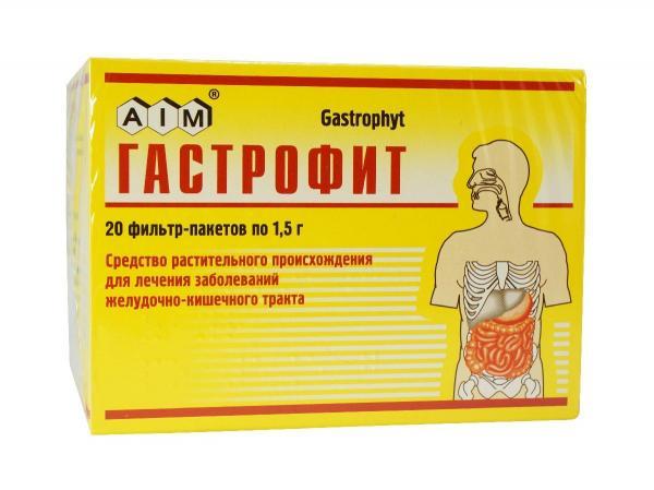 Пакетик Сбор Гастрофит 1.5 г N20
