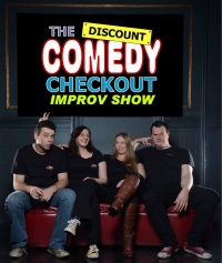 The Discount Comedy Checkout