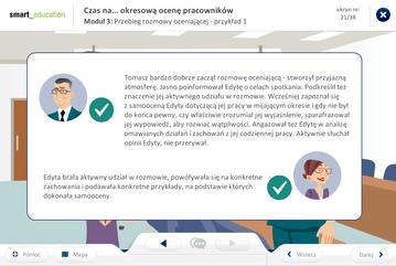 Szkolenie e-learningowe oceny pracownicze - nie można wyświetlić obrazu