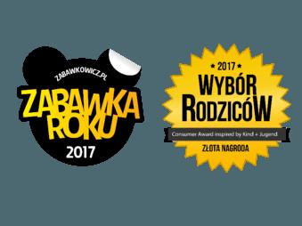 Złota Nagroda Zabawka Roku i Wybór Rodziców 2017