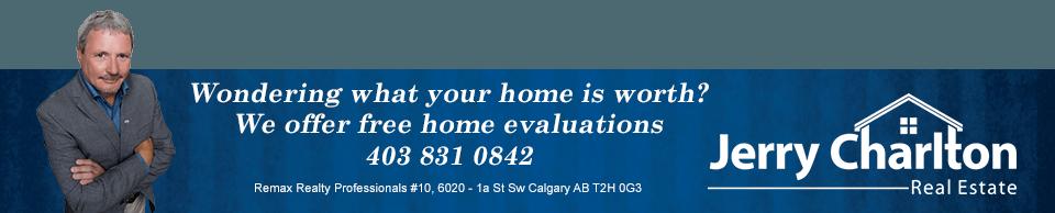 Jerry Charlton - Calgary Realtor - 403 831 0842