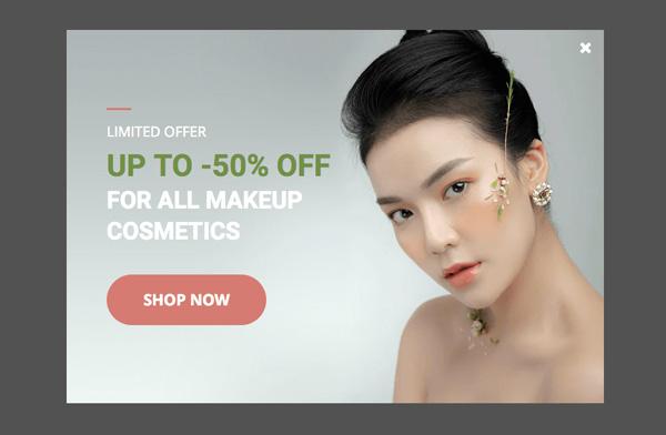 Makeup cosmetics sale