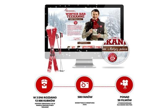 Adam Małysz w kampanii marketingowej