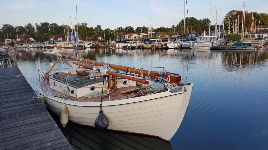 One-off Deense Spitsgat Zeilkotter - Zeiljol te koop