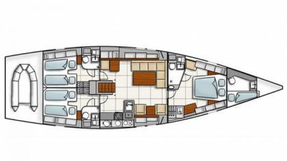 Hanse 540e for sale