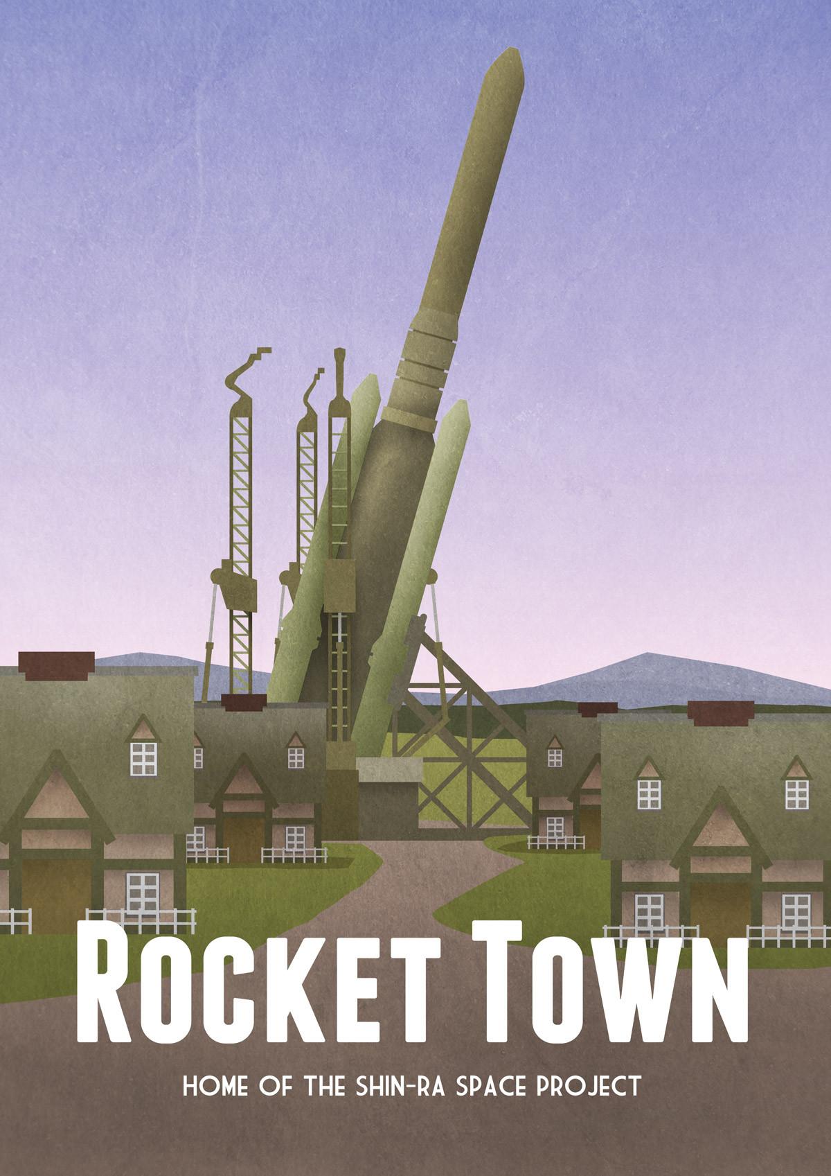 rocket-town-final-fantasy-vii-travel-poster_1