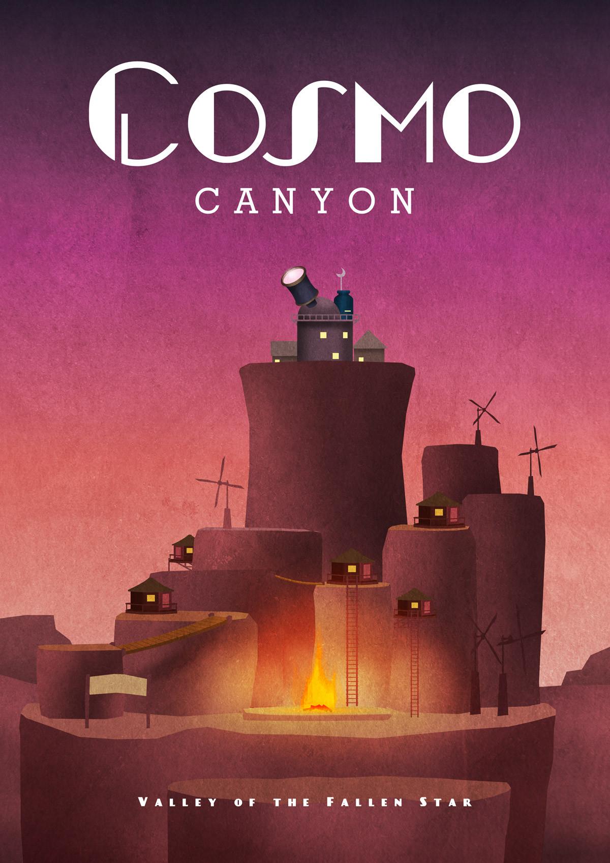 cosmo-canyon-final-fantasy-vii-travel-poster_1