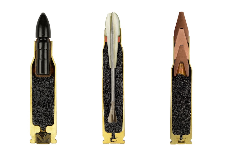 Bullets Precisely Split in Half 1