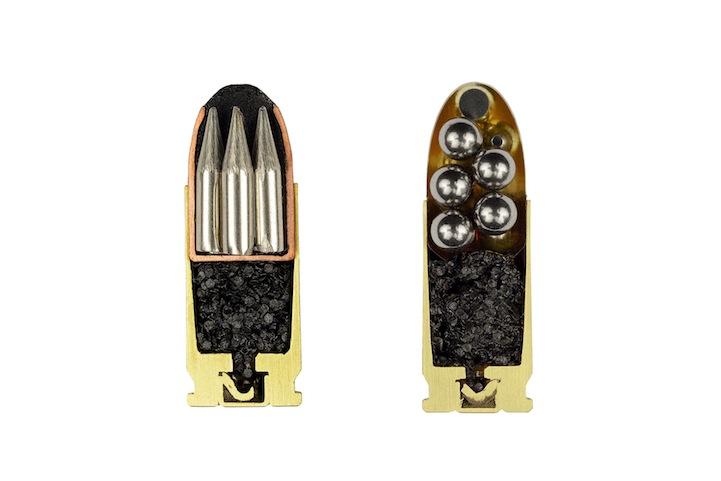 Bullets Precisely Split in Half 4