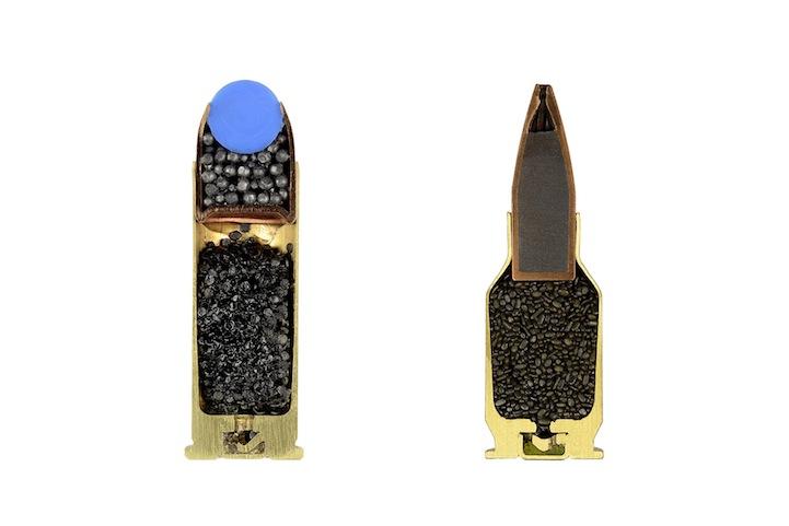 Bullets Precisely Split in Half 6